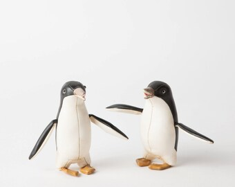 Vintage Leather Penguins
