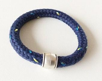 Mr thick sailing rope bracelet