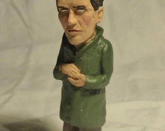 Ludwig Wittgenstein sculpture