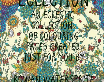 Eclection: An Adult Colouring Book