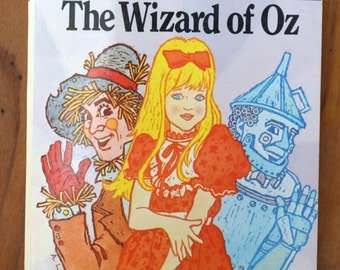 The Wizard of Oz/L. Frank Baum/Illustrated Classic Editions/Moby Books/Adapted version by Deidre S. Laiken/Vintage Paperback, illustrated