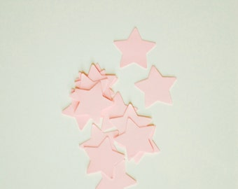 50 Star Confetti BabyPink