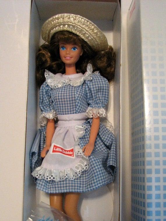 Vintage Little Debbie Barbie Doll 1992 1st By