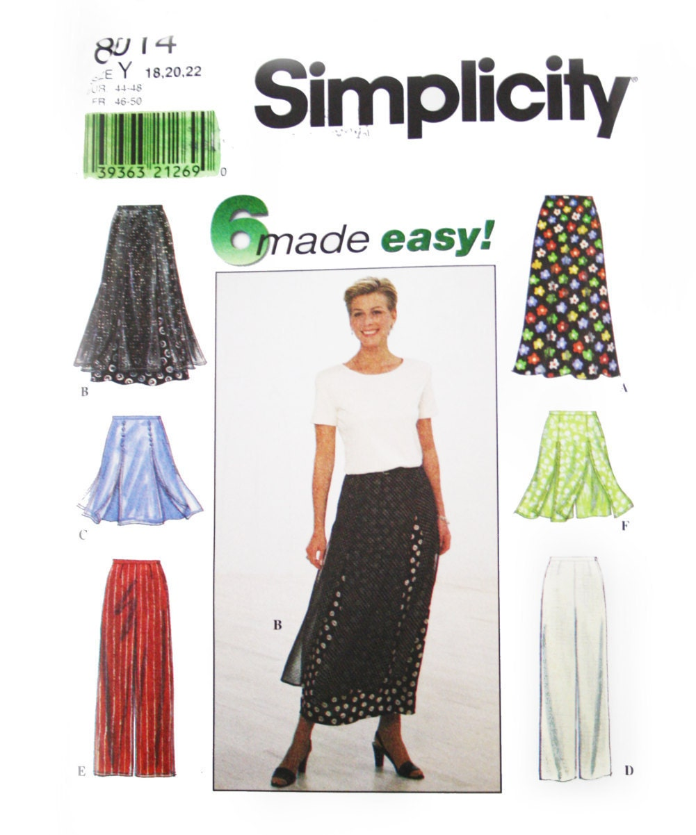 Buy Sewing Patterns Online Canada My Sewing Patterns - Simplicity ...