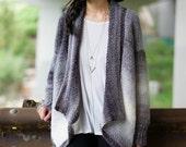 The Cascade Cardigan Crochet Pattern