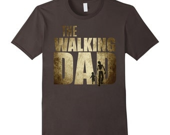 Walking Dad T-shirt Funny baby Shower Gift Father's Day Dad Shirt Gift - Halloween Shirt for new Dad to be First time Halloween for Men