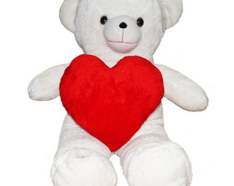 ShopTwiz Teddy Bear with Heart