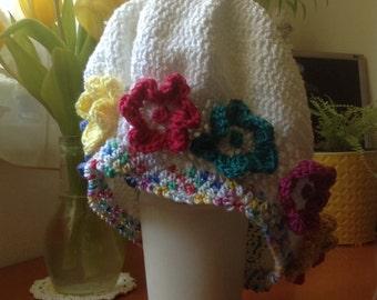 Summer Crocheted Beret