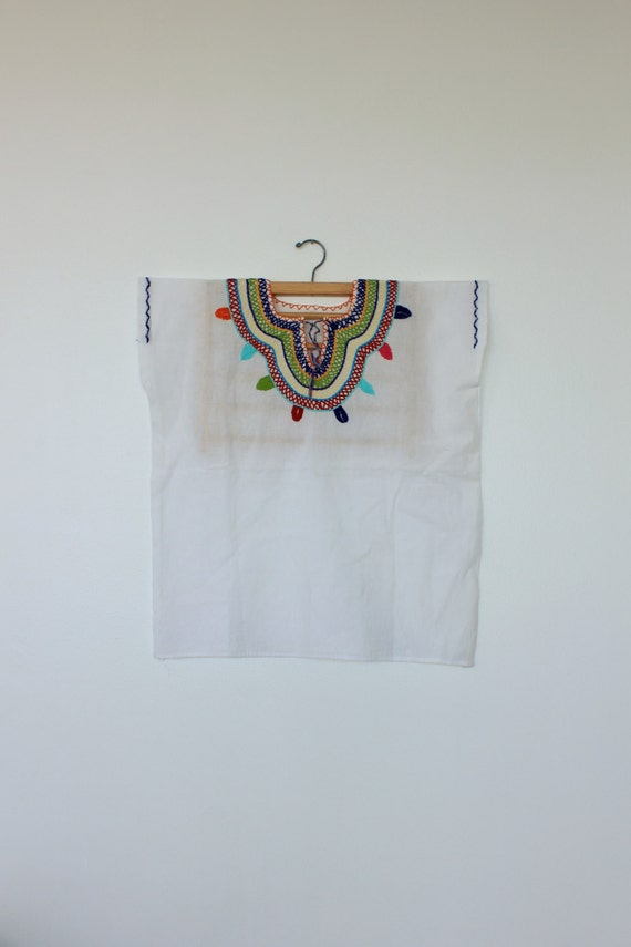 Mexican Embroidered Blouse/Embroidery Collar