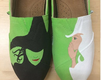 Wicked Painted TOMS