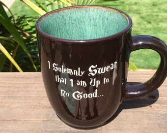 Harry Potter Coffee Mug, I Solemnly Swear that I'm Up To No Good