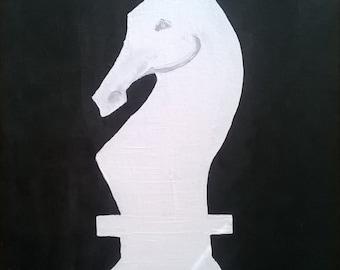 Original Painting Knight