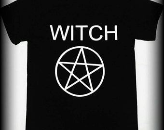 Pentacle  t-shirt, Wiccan tshirt, Witch, Spell,  Witch shirt, Wiccan clothing, Pagan Clothing, Wiccan Witch, S, M, L, XL