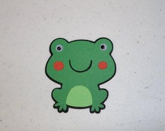 "3""  Frog Embellishment"