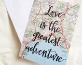The Greatest Adventure Card
