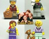 Golden Girls - Lego Minifigure Set