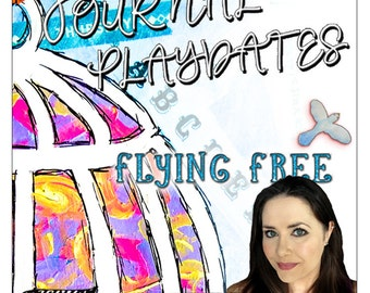 Art Journal Playdate with Jennibellie ~ Flying Free