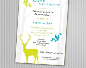 Outdoor Park BBQ Party Invitations *Digital Download*