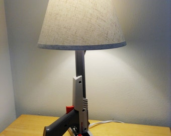 NES Nintendo Zapper Desk Lamp Light Gun - Nintendo Zapper Gray