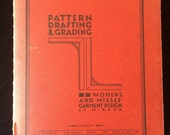 ORIGINAL Pattern Drafting & Grading Book by M. Rohr, Women's and Misses' Garment Design 1957