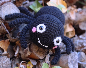 Crochet pattern - Itsy Bitsy Spider by Tremendu - Halloween amigurumi crochet toy, PDF digital pattern