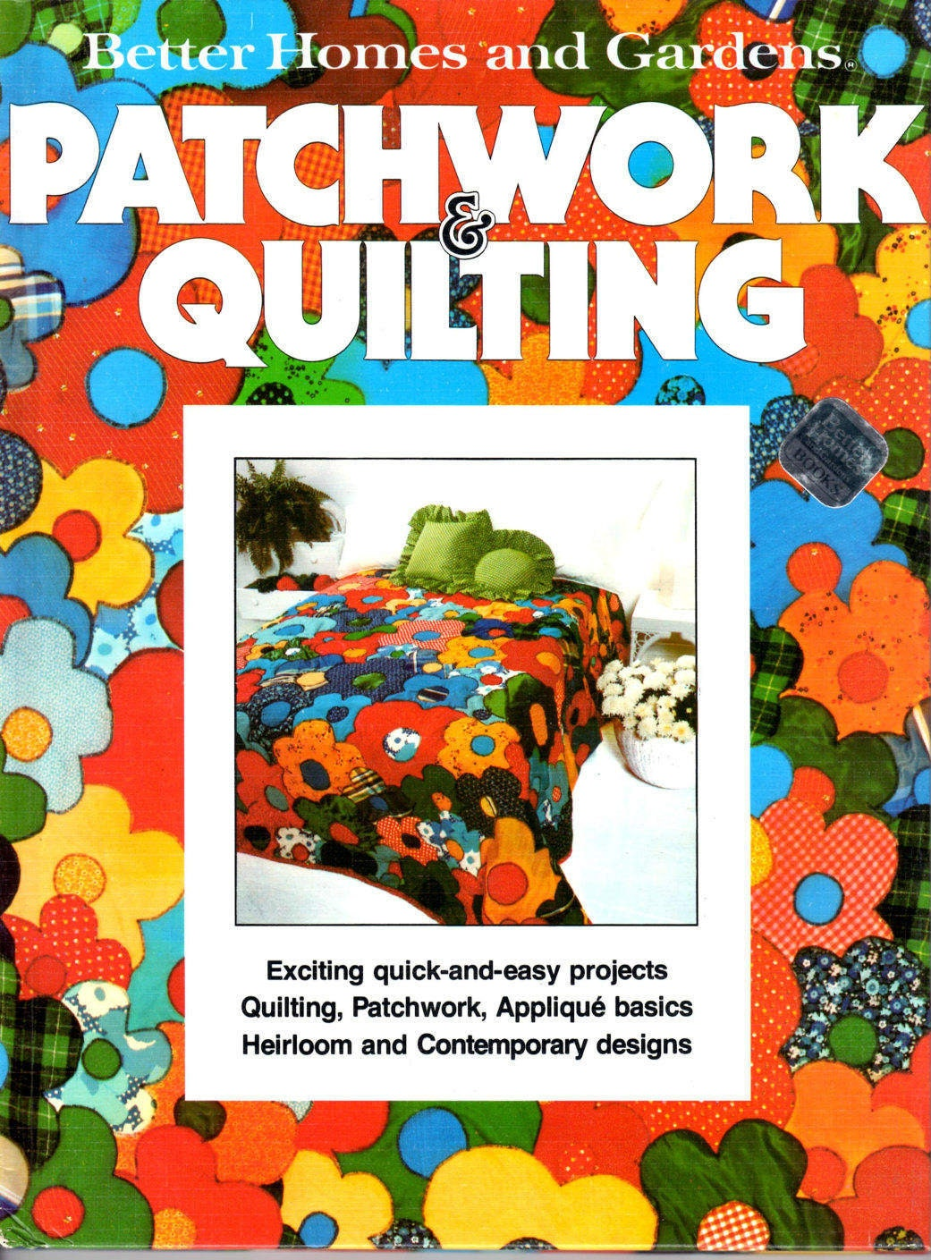 Better Homes Gardens Patchwork And Quilting Quilt Making