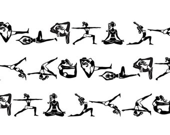 Yoga Washi Tape (20mm X 7M)
