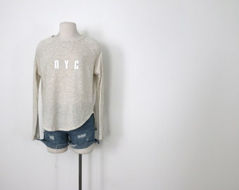 NYC Ivory Pullover Top