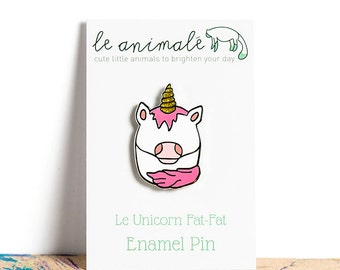 Unicorn Pin Enamel Pins Cute Kawaii Animals