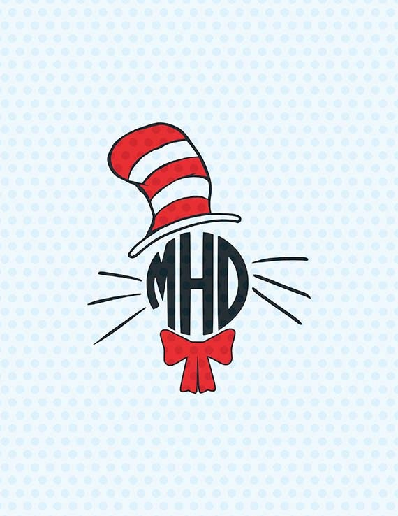 The cat in the hat | Etsy