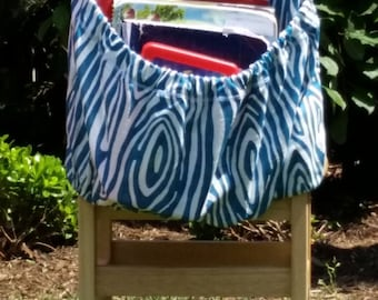 BLUE Willow // Chair Pockets // Teacher Seat Sacks // Classroom Organization <<16 inch PREMIUM>> End of Year SALE CoffeeKidsNDolls