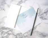 Letterpress Thank You Cards | Painted Thank You Cards | Watercolor Thank You Cards | Flat Thank You Cards | Set of 10