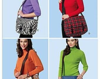 Butterick B5694 Messenger Bags Sewing Pattern