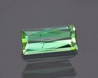 Beautiful Mint Green Tourmaline Gemstone from Maine 1.98 cts.