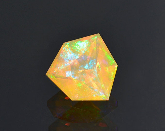 Beautiful Orange Opal Gemstone from Ethiopia 3.30 cts
