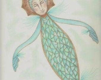 """Sea Dreams, beautiful 8x10"""" Giclee print"""