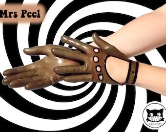 Mrs Peel latex gloves