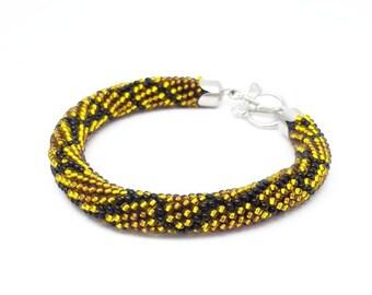 Snake bracelet/for/women gift snake jewelry Serpent Bracelet biker jewelry bold bracelet halloween bracelet python bracelet Beads bracelet