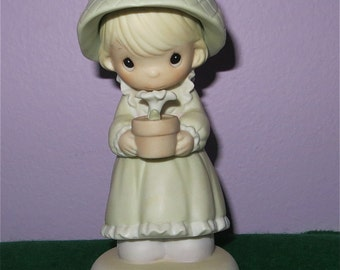 1988 Precious Moments His Love Will Shine On You Figurine By Enesco (Special 1989 Limited Edition) - Free Shipping