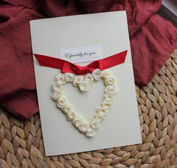 Personalised Handmade Birthday Card Girlfriend Wife By