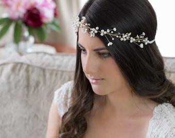 Bridal Headpiece   Olivia    Bridal Hair Vine, Wedding Headpiece, Wedding Accessories