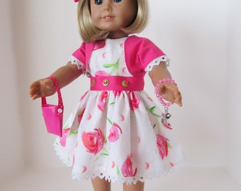 American Girl Doll: Stacked Buttons