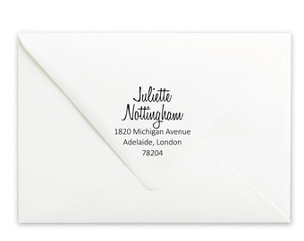 Custom Self-Inking Stamp - Personalized Stamp - Name Stamp - Return Address Stamp - Wedding Stamp - Name Stamp - Personalized Gift