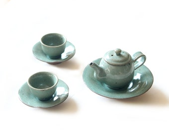 Celadon Teapot Set