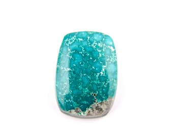 Natural Mongolian Turquoise Cab