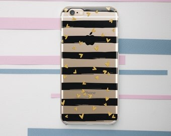 iPhone 6 Case Chevron Phone Case Striped Case Clear Chevron Case Samsung 6 Case 6s Case 6s Plus Case 5s Phone Case 5 Phone Case Clear OC_028