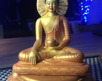 Shakyamuni Buddha Statue /Buddha Statue / Buddhist Sculpture / Statue / Dharma sculpture