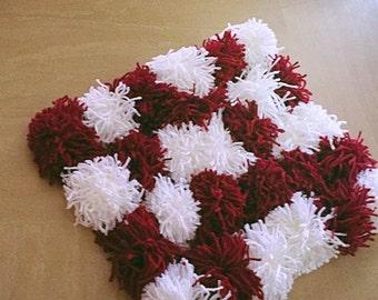 Fluffy Pom Pom rug