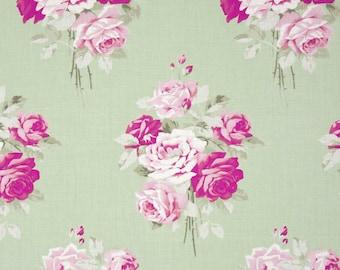 Slipper Roses by Tanya Whelan - Slipper Bouquet TW084 Green, 1 yard