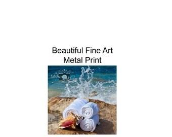 Photography, Art, Metal Print, Ocean Spa